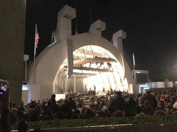 Hollywood Bowl, secção: E, fila: 2, lugar: 19
