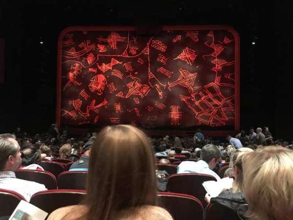 Minskoff Theatre, secção: Orchestra C, fila: S, lugar: 118