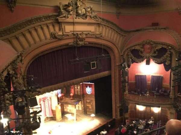 Lyceum Theatre (Broadway), secção: Balcony L, fila: C, lugar: 21
