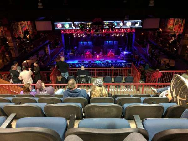 House Of Blues - Boston, secção: Stadium, fila: E, lugar: 312