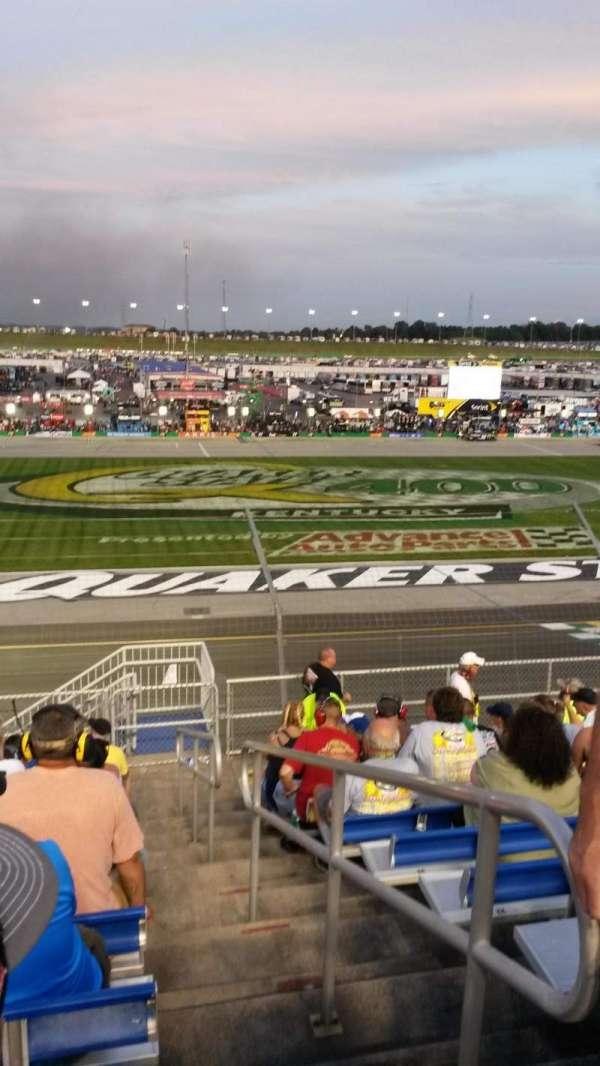 Kentucky Speedway, secção: GS4B, fila: 11, lugar: 1