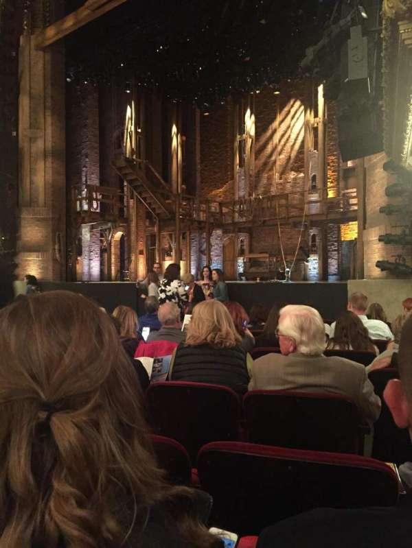 CIBC Theatre, secção: Orchestra r, fila: L, lugar: 20