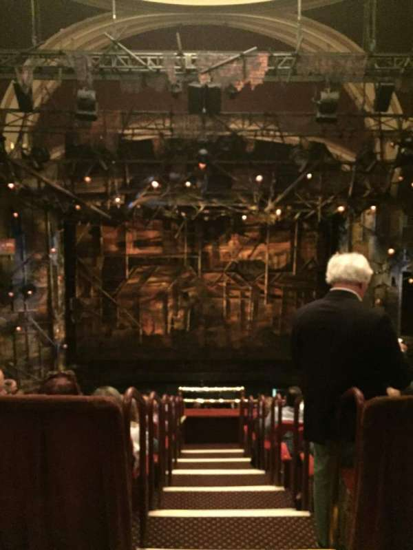 Broadway Theatre - 53rd Street, secção: Rear Mezzanine C, fila: A, lugar: 109