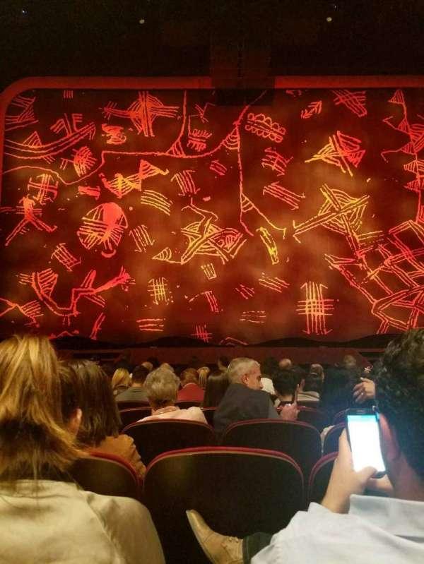 Minskoff Theatre, secção: Orchestra C, fila: L, lugar: 113