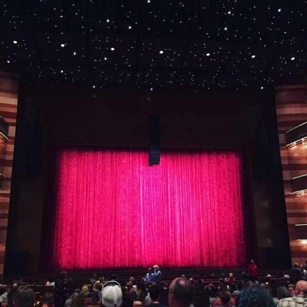 Eccles Theater, secção: Orchesta Center Rear, fila: TT, lugar: 14