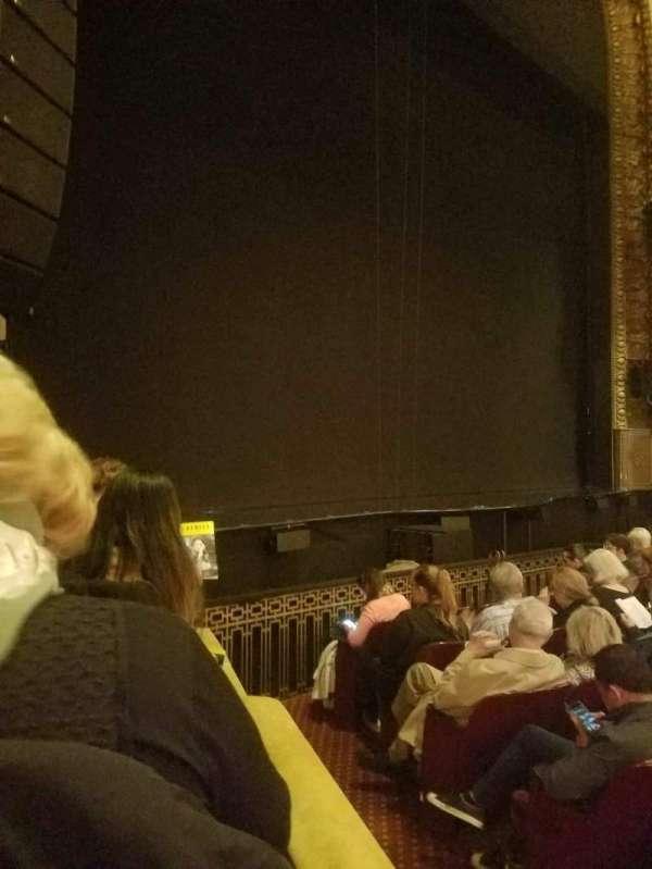 Palace Theatre (Broadway), secção: orch left, fila: f, lugar: 1