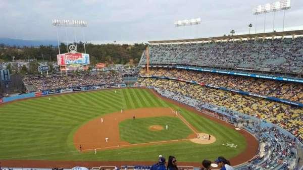 Dodger Stadium, secção: 17RS, fila: BB, lugar: 6