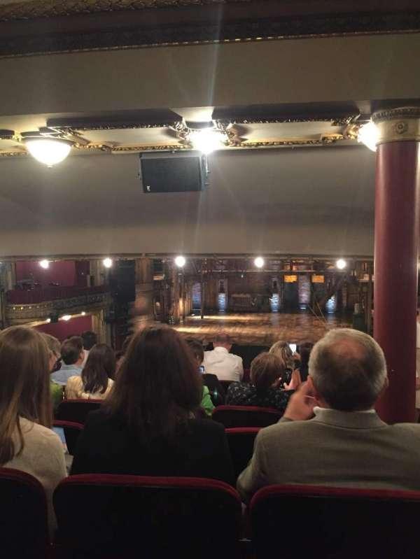 CIBC Theatre, secção: Dress Circle C, fila: G, lugar: 210