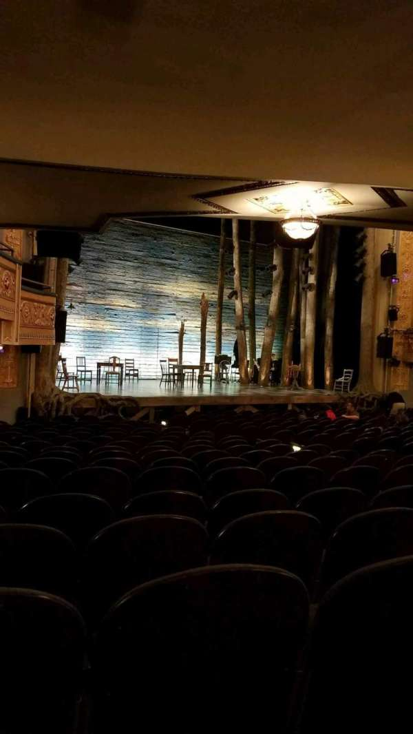 Gerald Schoenfeld Theatre, secção: Orchestra L, fila: Q, lugar: 23