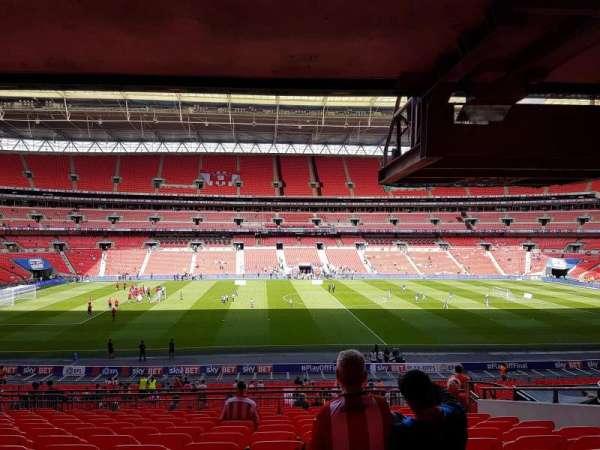 Wembley Stadium, secção: 123, fila: 43, lugar: 27
