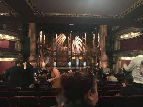 CIBC Theatre, secção: orchestra c, fila: w, lugar: 112