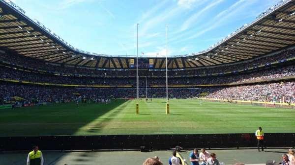Twickenham Stadium, secção: L34, fila: 11, lugar: 169