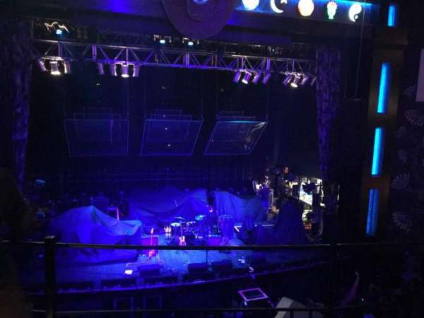 House Of Blues - Dallas, secção: Balcony C, fila: B, lugar: 201