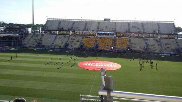 Mapfre Stadium, secção: 206, fila: 7, lugar: 4