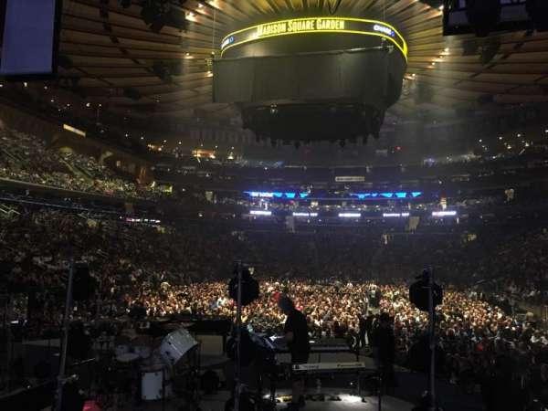 Madison Square Garden, secção: 113, fila: 7, lugar: 1
