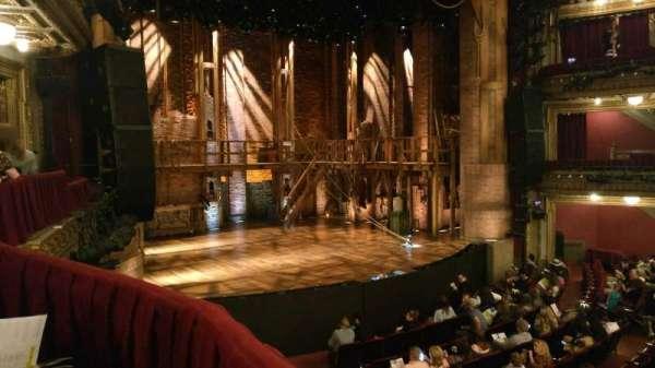 CIBC Theatre, secção: Dress Circle Box 1, fila: Aisle 11, lugar: 205