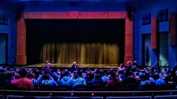 Seifert Performing Arts Center, secção: Mezzenine Right, fila: A, lugar: 16