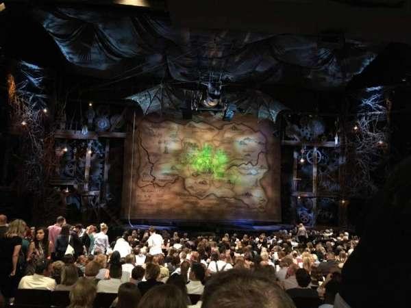 Gershwin Theatre, secção: Orchestra c, fila: U, lugar: 104