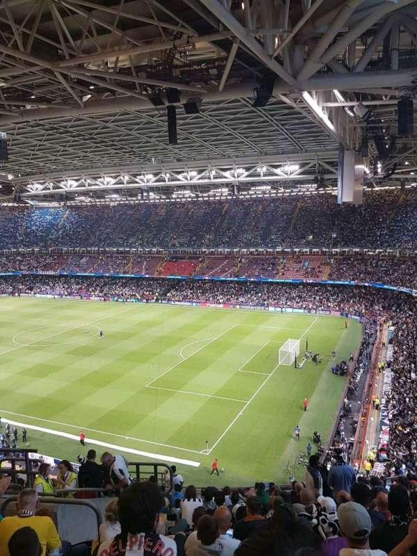 Principality Stadium, secção: 265, fila: 17, lugar: 7