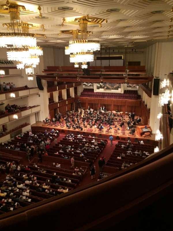 The Kennedy Center Concert Hall, secção: Tier 2, fila: A, lugar: 26