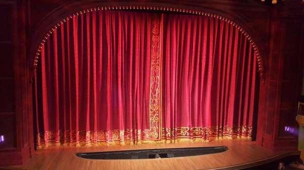 Shubert Theatre, secção: Mezzanine C, fila: A, lugar: 113-112