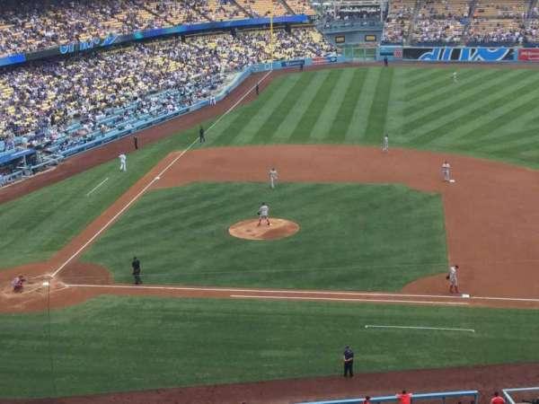 Dodger Stadium, secção: 16RS, fila: G, lugar: 13