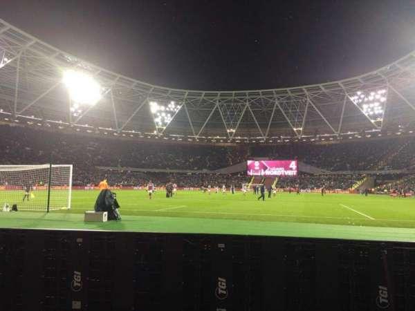 London Stadium, secção: 153, fila: 1, lugar: 534