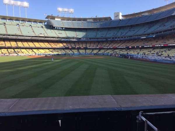 Dodger Stadium, secção: 305PL, fila: A, lugar: 5