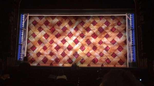 Brooks Atkinson Theatre, secção: Orchestra C, fila: N, lugar: 109