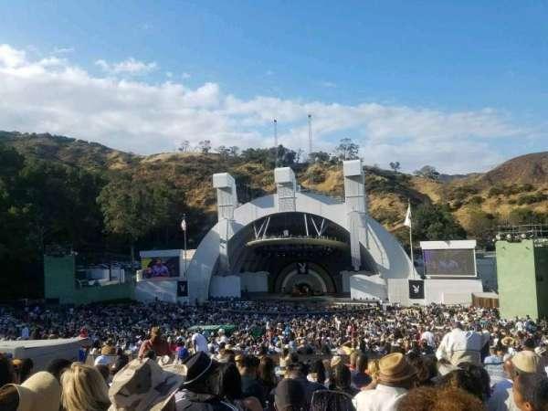 Hollywood Bowl, secção: G2, fila: 12, lugar: 24