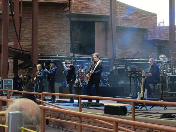 Red Rocks Amphitheatre, fila: 2, lugar: 13