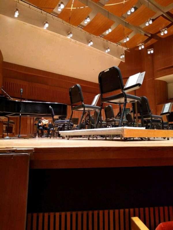 Joseph Meyerhoff Symphony Hall, secção: orchestra left, fila: C, lugar: 13