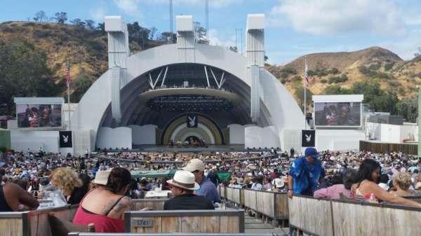 Hollywood Bowl, secção: Terrace 4, fila: 1841, lugar: 3