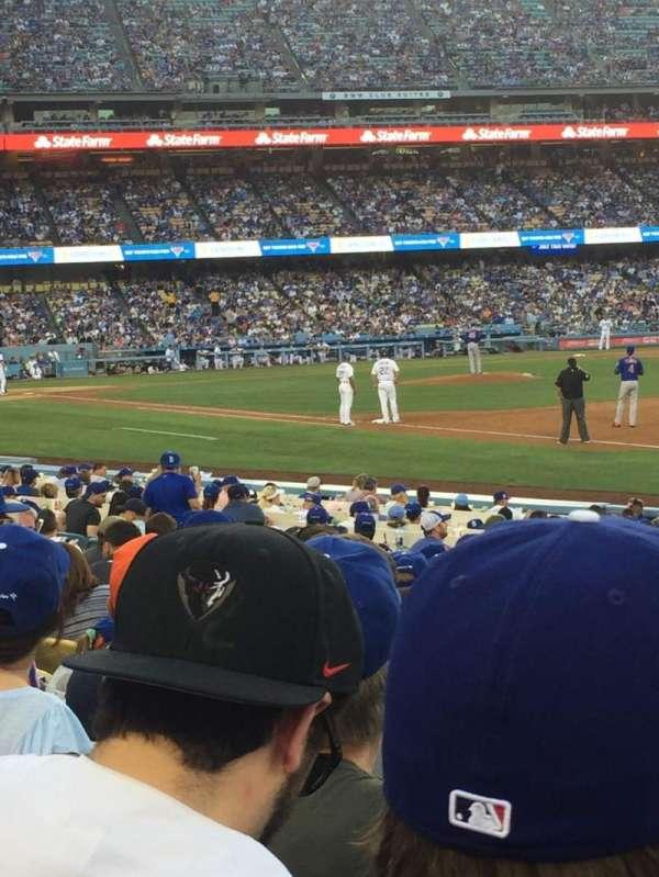 Dodger Stadium, secção: 36FD, fila: 11, lugar: 7