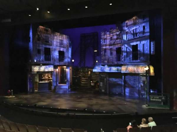 ZACH Theatre, secção: Left, fila: K, lugar: 108