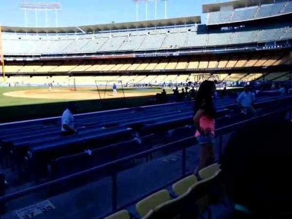 Dodger Stadium, secção: 35FD, fila: c, lugar: 8