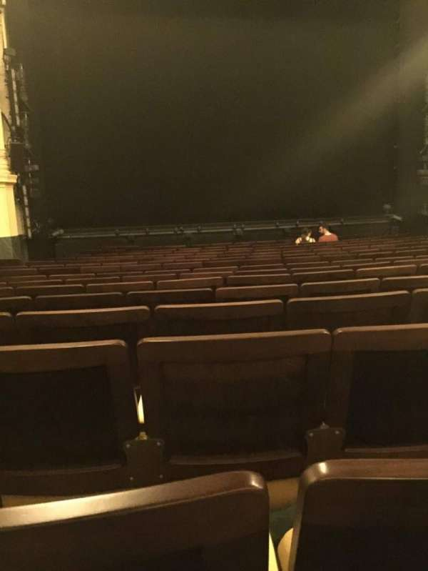 Hudson Theatre, secção: Orchestra C, fila: P, lugar: 103