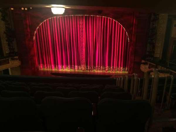 Shubert Theatre, secção: Mezzanine C, fila: H, lugar: 102