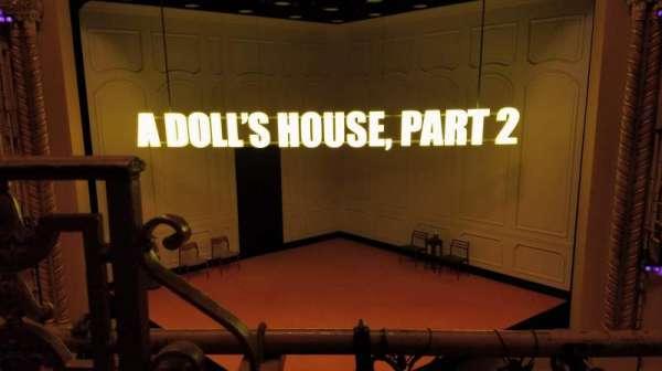 John Golden Theatre, secção: Front Mezzanine, fila: A, lugar: 102