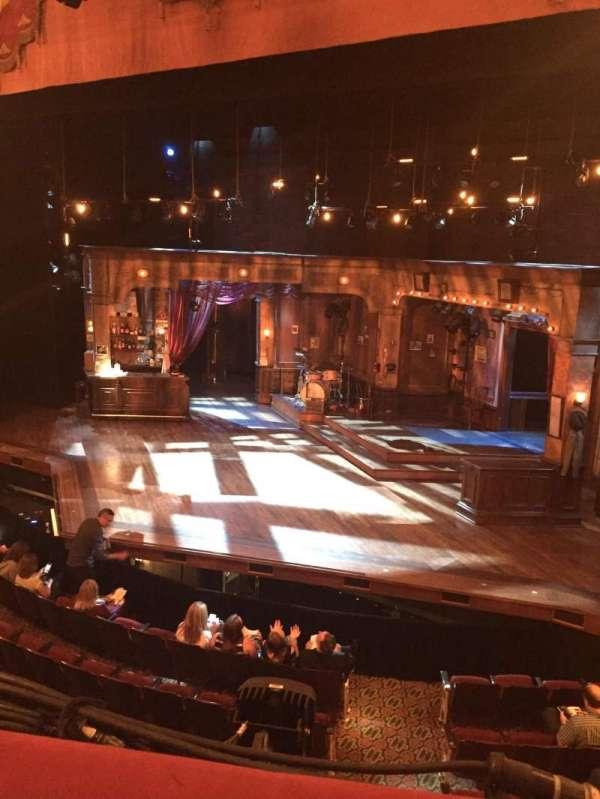 Bernard B. Jacobs Theatre, secção: Mezzanine R, fila: A, lugar: 10