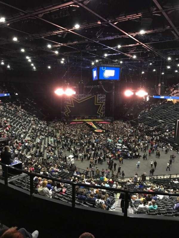 AccorHotels Arena, secção: Balcon T, fila: 84, lugar: 31