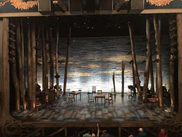 Gerald Schoenfeld Theatre, secção: Mezzanine C, fila: A, lugar: 108