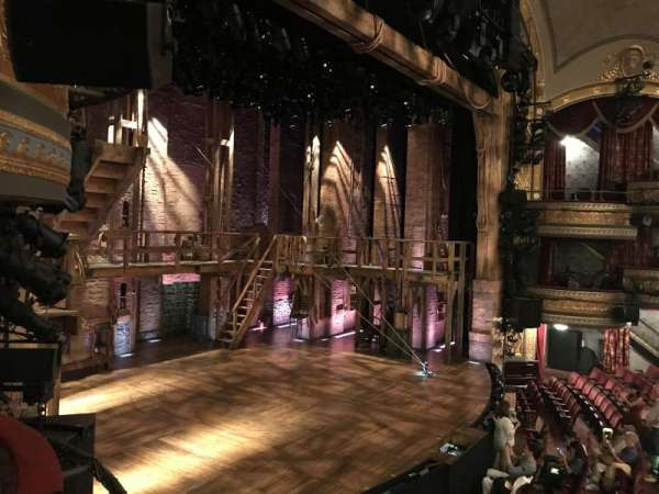 Richard Rodgers Theatre, secção: Box A, fila: 1, lugar: 2