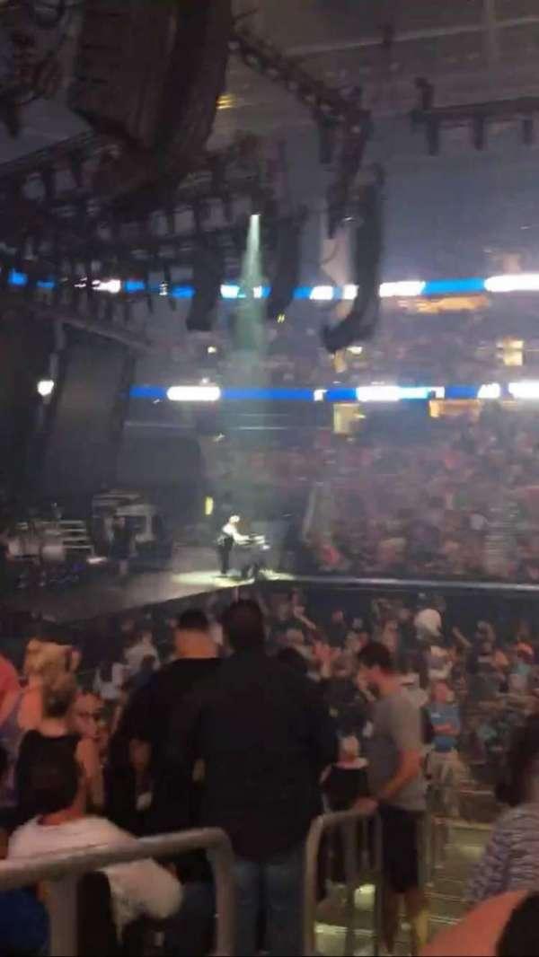 Amalie Arena, secção: 117, fila: N, lugar: 17