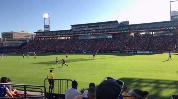 Toyota Stadium, secção: 131, fila: 6, lugar: 4