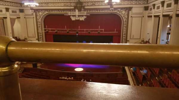 Symphony Hall (Springfield), secção: Balcony, fila: A, lugar: 124