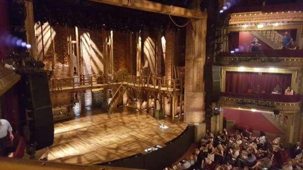 CIBC Theatre, secção: Mezzanine L, fila: A, lugar: 9