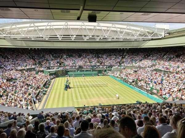 Wimbledon, Centre Court, secção: 301, fila: S, lugar: 103