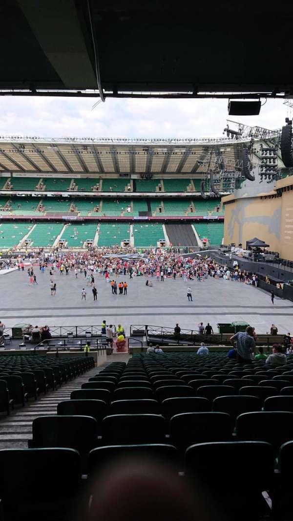 Twickenham Stadium, secção: L4, fila: 37, lugar: 190