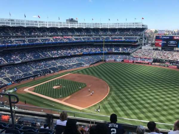 Yankee Stadium, secção: 412, fila: 5, lugar: 14